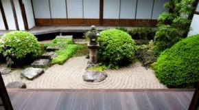 Japanischer Zen-Garten (Steingarten)