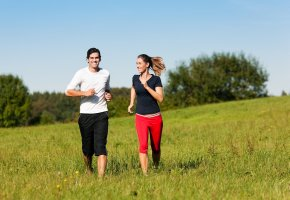 Jogging im Hochsommer