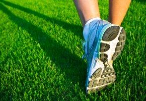 Jogging im Rückwärtsgang