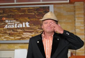 Kabarettist Frank-Markus Barwasser alias Erwin Pelzig