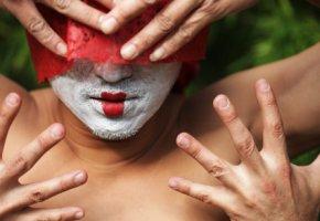 Kabuki-Aufführung - ausschliesslich männliche Schauspieler dürfen auftreten