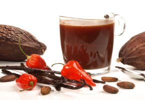 Kakaoschalentee hat wenig Kalorien
