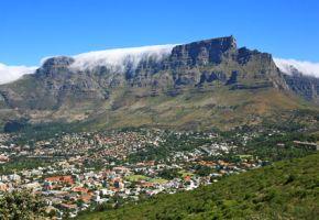 Kapstadt mit Blick auf den Tafelberg