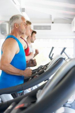 Kardiotraining senkt das Risiko von Diabetes Typ-2 - Probanten beim Lauftraining