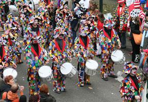 Karnevalsumzug in Köln
