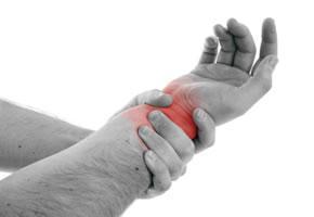 Karpaltunnelsyndrom, schmerzen im Handgelenk