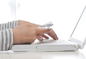Kartenzahlung im Internet