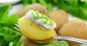 In Kartoffeln ist auch Silizium enthalten.