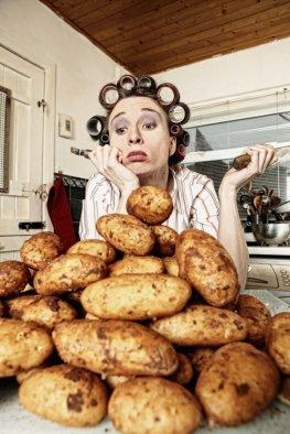 Kartoffeln gehören nicht auf den Diätplan