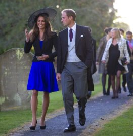 Kate Middleton und Prinz William werden heiraten