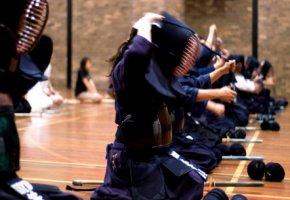 Kendo-Training - Vorbereitung zum Kampf