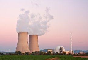 Kernkraftwerk Grohnde in Niedersachsen