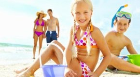 Kids on Tour: Spielen mit Sand