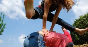 Bewegung und Motorik durch Kinderspiele.