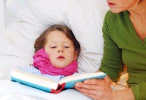 Kinderkrankheit: Das Mädchen ist Krank