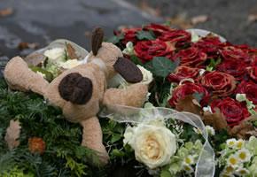 Kindstod: Eine Beerdigung von einem Kind