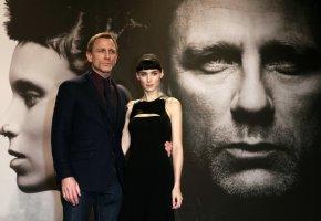 Kinofilm Verblendung - Daniel Craig und Rooney Mara bei der Deutschlandpremiere in Berlin