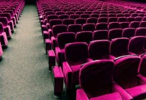Kinosaal - hier werden die Blockbuster vorgeführt