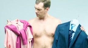 Kleidungsstil - Männer sind unentschlossen bei der Kleidungswahl