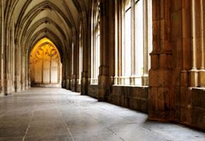 Innenansicht vom Kloster Maulbronn