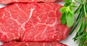 Teures Kobe Rindfleisch von Wagyu-Rindern aus Japan.