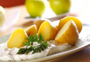 Kohlenhydrate: Kartoffel mit Quark