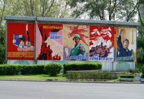 Kommunistische Ideologie - Propaganda in Nordkorea