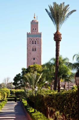 Koutoubia Moschee in Marrakesch - Marokko