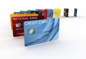 Kreditkarten als Zahlungsmittel