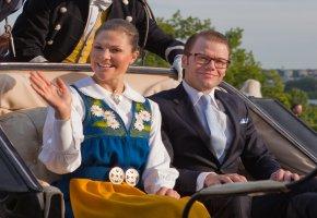 Kronprinzessin Victoria und Daniel Westling