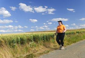 Nordic Walking - länger Leben mit Bewegung und Sport
