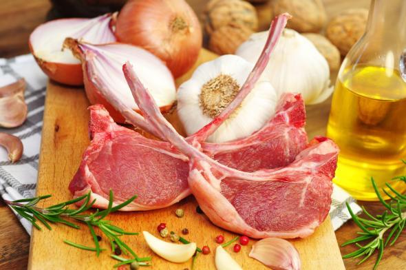 In Deutschland wird nicht soviel Lamm gegessen, wie in anderen europäischen Staaten.
