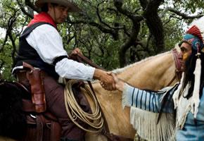 LARP - Ein Cowboy und Indianer