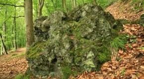 Lava Klumpen in der Eifel