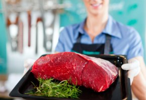 Lebensmitteltechnik: Transglutaminase zum Kleben von Fleisch