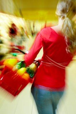 Lebensmittelunverträglichkeit - der Einkauf im Supermarkt