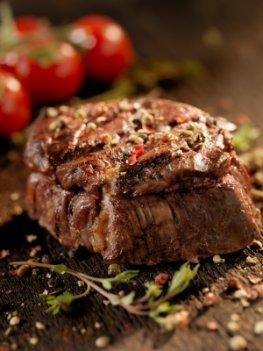 Leckeres Bisonfleisch gegrillt als Steak