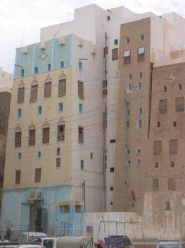 Lehmbauten - Shibam in der Wüste des Jemen