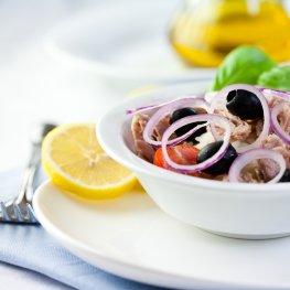 Leichte Kost - Salat mit Thunfisch
