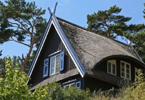 Litauen, ein Ferienhaus in Nidden