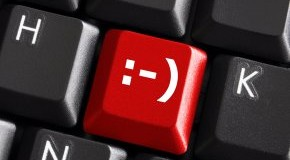 Happy feeling - LOL - Laughing Out Loud auf der Tastatur