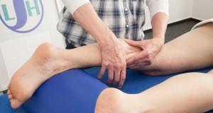 Die Lymphdrainage kann den Lymphabfluss positiv beeinflußen.