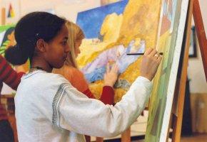 Malen - Künstlerisches Üben schult die Sinne und fördert die Kreativität