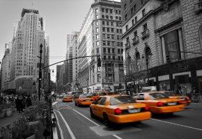 Manhattan - New York: Unterwegs mit dem Taxi - Taxifahrer wissen wo man gut und billig isst