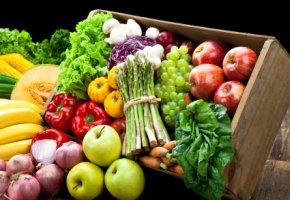 Mediterrane Ernährung - gesundes Obst und Gemüse im Ernährungs-Check