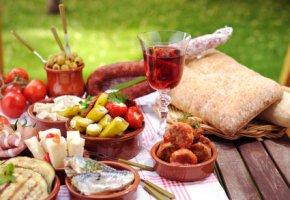 Mediterrane Küche - leckeres Essen und dabei auch noch abnehmen