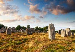 Megalithen von Carnac - über 3000 Steine