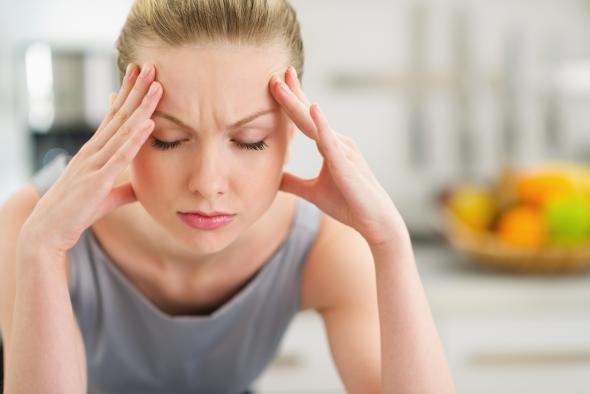 Gesunde Ernährung kann die Schmerzen einer Migräne lindern.