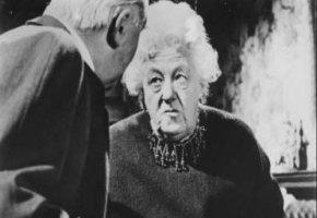 """Miss Marple: Margaret Rutherford in der """"Der Wachsblumenstrauß"""""""