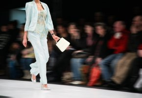Mode auf dem Laufsteg: Mailand und Paris